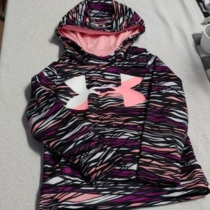 Girls Under Armour Hoodie Size Youth XS (4/5)